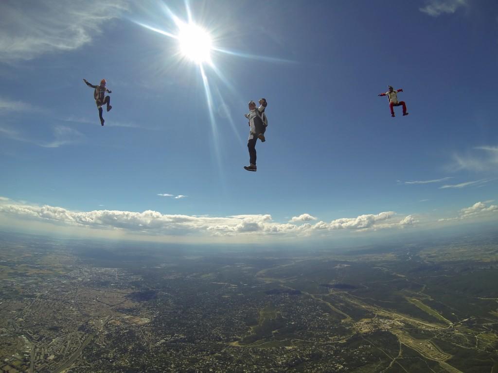 parachutisme l
