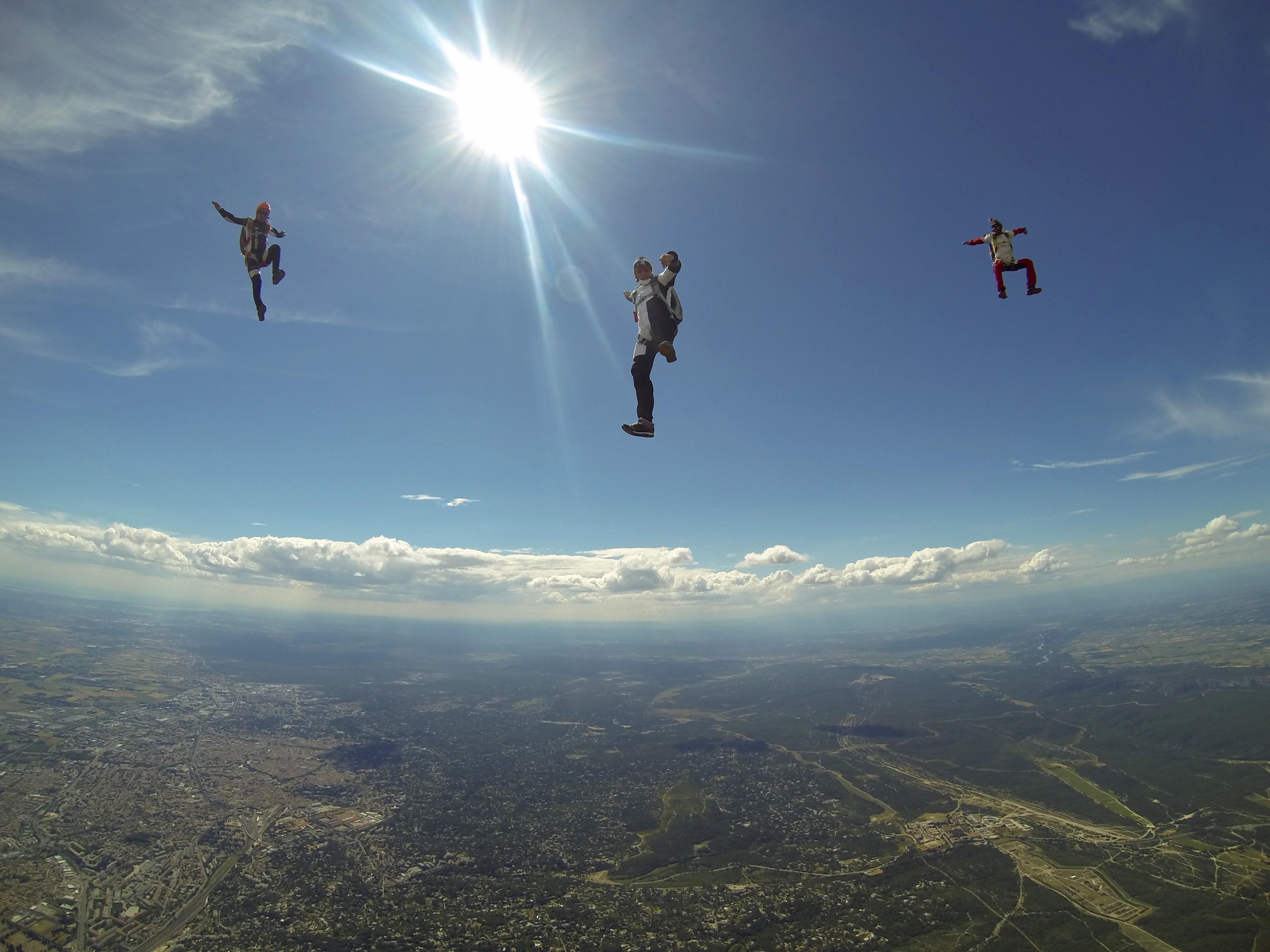 parachutisme cannes