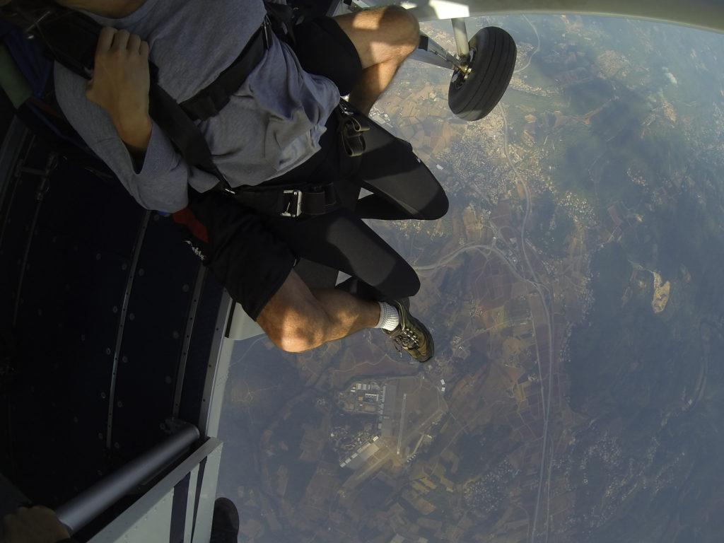 sortie avion tandem